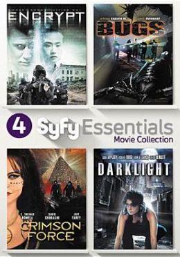 4 Syfy Essentials Movie Collection: Encrypt/Bugs/Crimson Force/Darklight