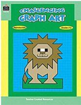 TEACHER CREATED RESOURCES TCM096 CHALLENGING GRAPH ART-GR. 2-6