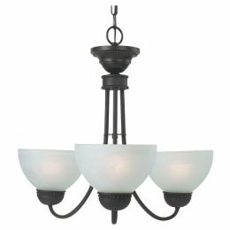 Royce Lighting RMC400-3-23 Westlake 3 Light Mini Chand. Oil Rubbed Bronze