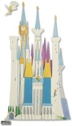 Disney Vacation Dimensional Sticker-Disney Castle