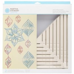 Martha Stewart 491862 Vintage Girl Ornament Template-Large Triangle
