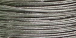 Craft & Jewelry 7-Strand Beading Wire .45mm 40ft/Pkg-Silver