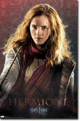 Deathly Hallows Hermoine - Poster