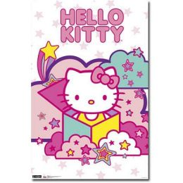 Hello Kitty - Stars Poster