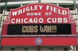 Wrigley Field - Home of Chicago Cubs - Poster
