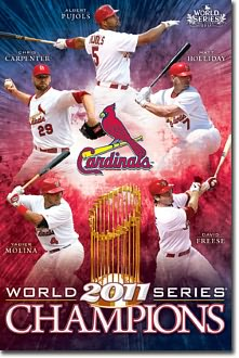 2011 World Series Champs Poster