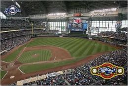 Milwaukee Brewers - Miller Park - Poster
