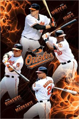Baltimore Orioles - Collage 2010 - Poster