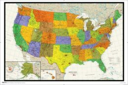 United States Map - Poster