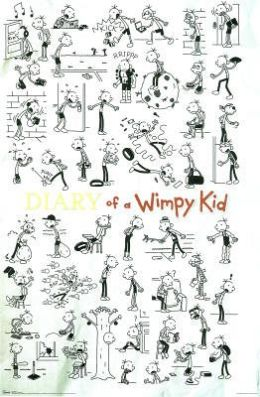 Diary of a Wimpy Kid - Doodles - Poster