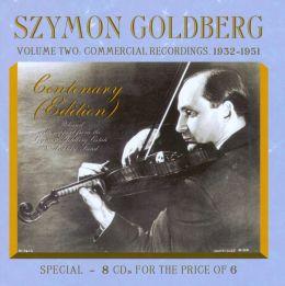 Szymon Goldberg Centenary Edition, Vol. 2: Commercial Recordings 1932-1951