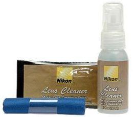 Nikon 3-Piece Lens Cleaning Kit (Microfiber Cloth/Fluid/Moist Cloths)