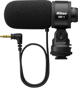 Nikon ME-1 Stereo Microphone for D7000, D5100, D3s, D300s, Coolpix P7100, 1 V1 Cameras