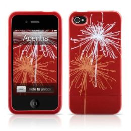 iPhone 4 Shield Bloom in Red