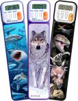 Product Image. Title: Mark-My-Time Assorted 3D Digital Bookmark