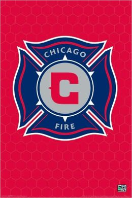 MLS Chicago Fire Logo - Poster