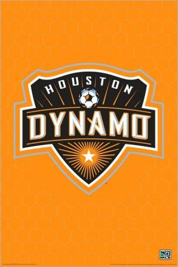 MLS Houston Dynamo Logo - Poster