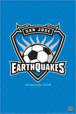 MLS San Jose Earthquakes - Poster