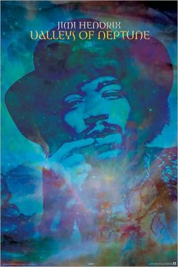 Jimi Hendrix - Valleys of Neptune - Poster