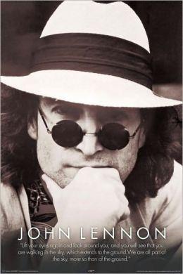John Lennon Hat - Poster