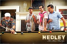 Hedley Pool Table - Poster