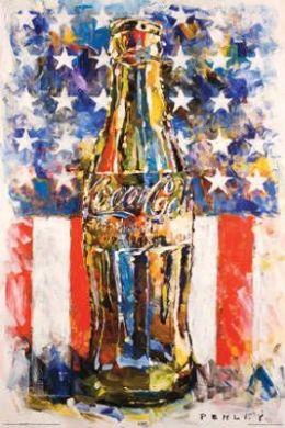 Poster Steve Penley Coca-Cola Art Print Poster - 24x36