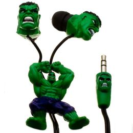 Marvel Comics Licensed Hulk Earbuds Slider & Jack Design