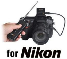 Zeikos Wireless Remote Shutter Release for Nikon Digital SLR Cameras