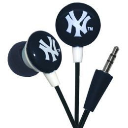 MLB Licensed New York Yankees Earbuds