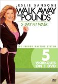 Video/DVD. Title: Leslie Sansone: Walk Away the Pounds - 5-Day Fit Walk