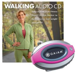 Walking Fit Kit - Pedometer & CD
