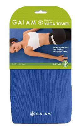 Thirsty Yoga Towel - Dark Blue