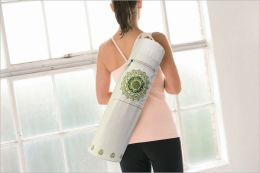 Yoga Mat Bag: Mosaic Wht