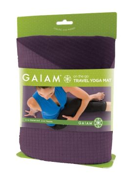 Travel Yoga Mat - Purple