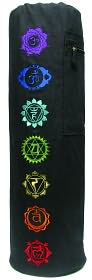 Chakra Embroidered Yoga Mat Bag