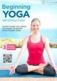 Video/DVD. Title: Beginning Yoga with Chrissy Carter