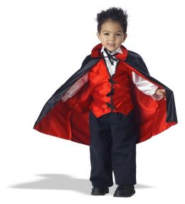 Vampire Toddler Costume: Size 3-4