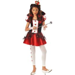 Alice in Wonderland Queen of Hearts Child Costume: Size Large (10-12)