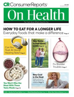 Consumer Reports on Health - One Year Subscription