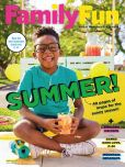 Magazine Cover Image. Title: FamilyFun - One Year Subscription