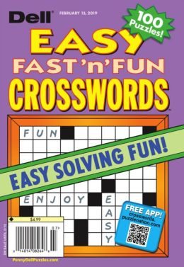 Dell's Best Easy Fast n' Fun Crosswords - One Year Subscription
