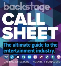 Call Sheet by Backstage - One Year Subscription