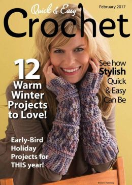 Free Crochet Magazine Subscriptions : Quick & Easy Crochet - One Year Subscription Barnes & Noble