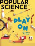 Magazine Cover Image. Title: Popular Science - One Year Subscription