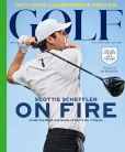 Magazine Cover Image. Title: Golf Magazine - One Year Subscription