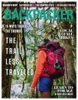Magazine Cover Image. Title: Backpacker - One Year Subscription