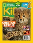 Magazine Cover Image. Title: National Geographic Kids - One Year Subscription