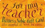 Product Image. Title: Teacher Gift Card