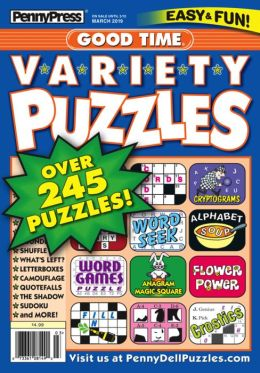 Good Time Variety Puzzles - One Year Subscription