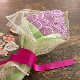 Dozen Roses Cookie Bouquet